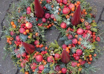 Fruchtiger Adventskranz