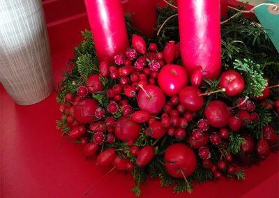 Früchtektanz zum Advent